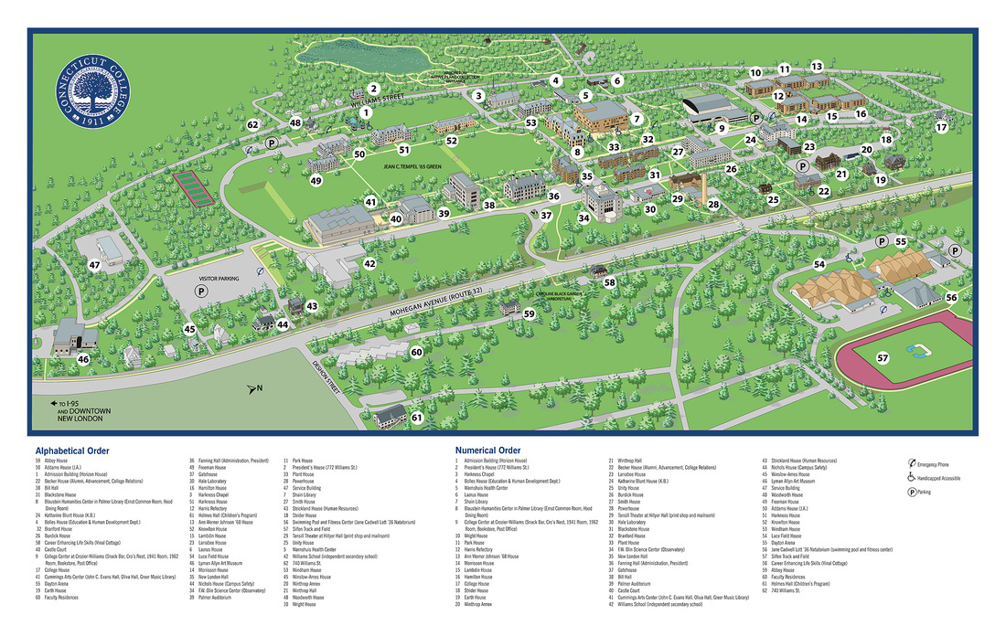 conn coll campus map 2015 Information United States Goodwilltang Soo Do Association conn coll campus map